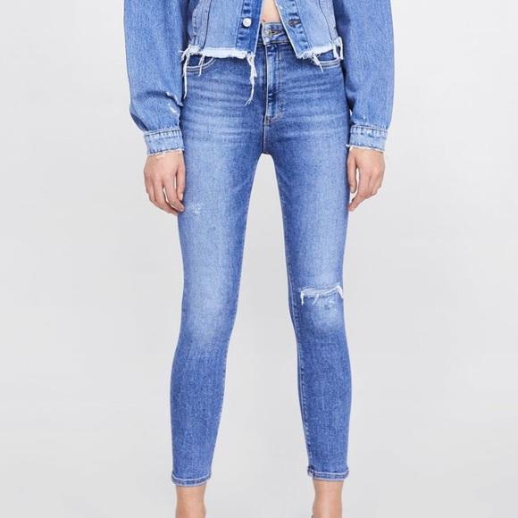 59410c97 Zara Premium High Waist Venice Blue Jeans. M_5c5353db035cf1fb638f0fa2